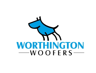 Worthington Woofers logo design concepts #8