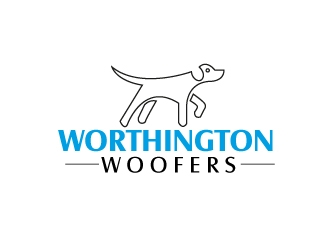 Worthington Woofers logo design concepts #9