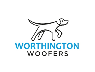 Worthington Woofers logo design concepts #10