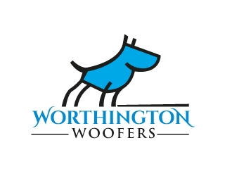 Worthington Woofers logo design concepts #12
