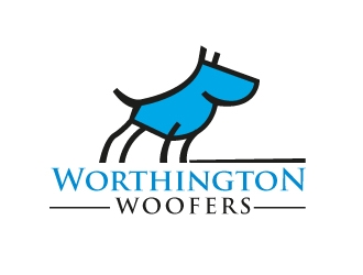 Worthington Woofers logo design concepts #13