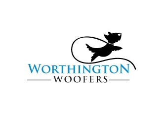 Worthington Woofers logo design concepts #16