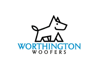 Worthington Woofers logo design concepts #17