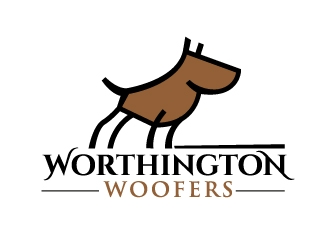 Worthington Woofers logo design concepts #19