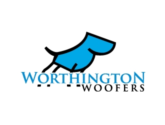 Worthington Woofers logo design concepts #21
