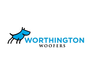 Worthington Woofers logo design concepts #23