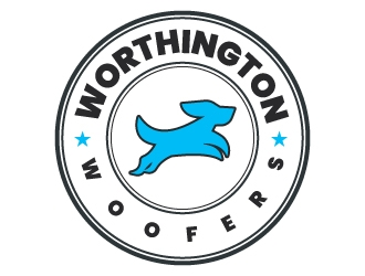 Worthington Woofers logo design concepts #24