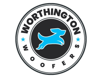 Worthington Woofers logo design concepts #25