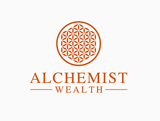 Alchemist Wealth logo design concepts #4
