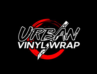 Urban Vinyl Wrap Logo Design