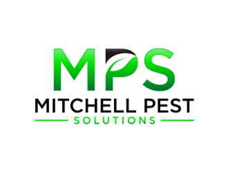 MPS Mitchell Pest Solutions logo design concepts #7