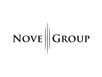 Nove Group logo design concepts #3