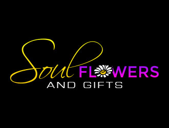 Soul Flowers and Gifts  Logo Design