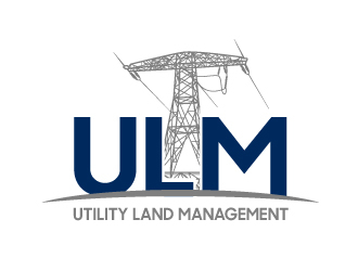 Utility Land Management Logo Design