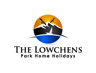 Vacation Rental Logo Spotlight: The Lowchens Park Home Holiday Logo Design