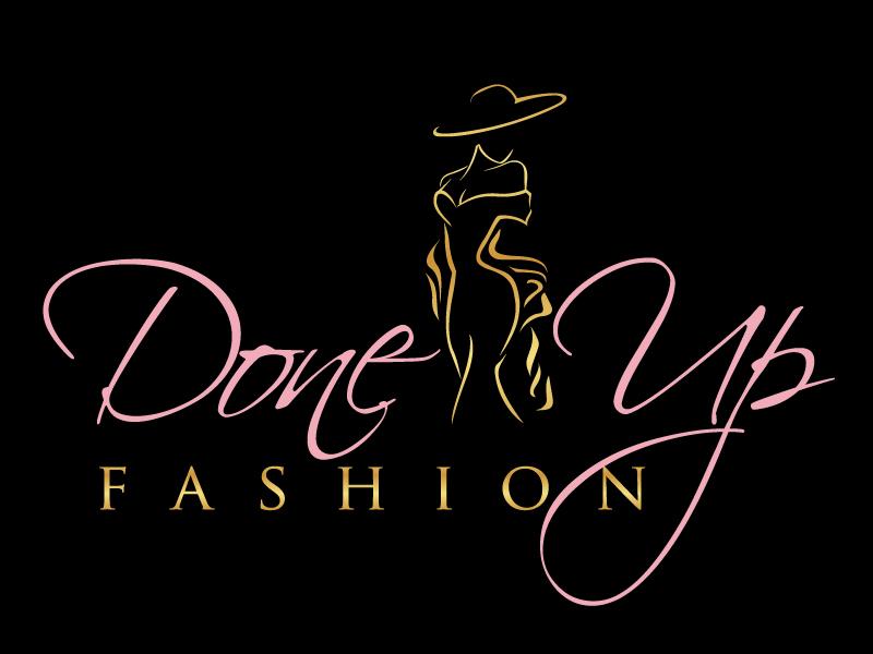 DoneUp Fashion Logo Design