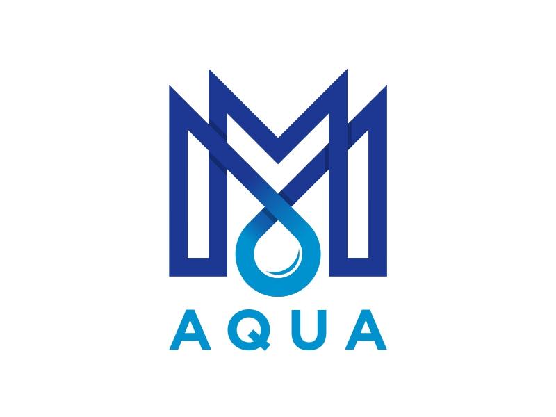 MM AQUA Logo Design