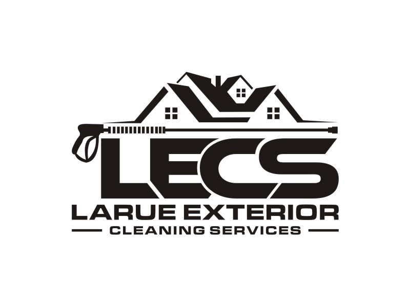Larue exterior cleaning services Logo Design