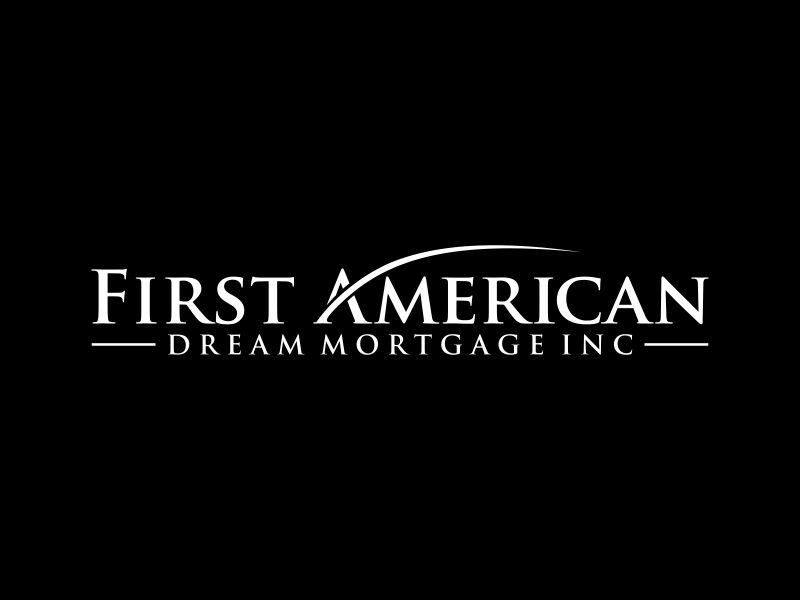 First American Dream Mortgage Inc Logo Design