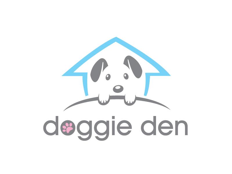 doggie den Logo Design