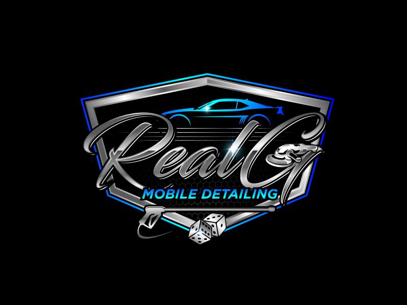 Real G Mobile Detailing Logo Design