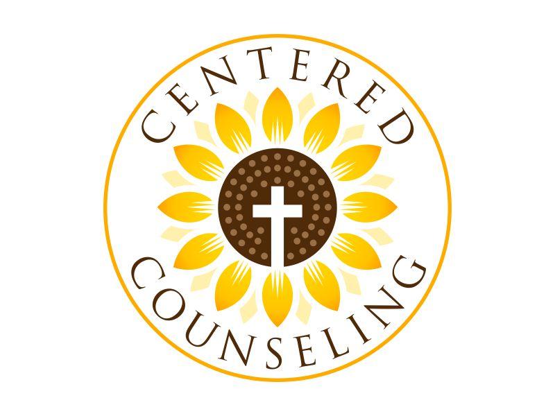 Centered Counseling Logo Design
