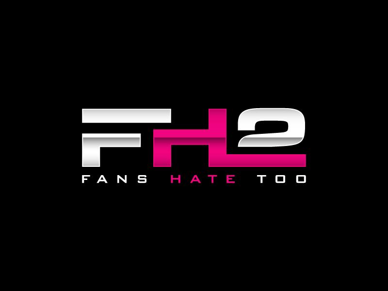 FH2 F.Fans H. Hate 2.✌🏽Or too Logo Design
