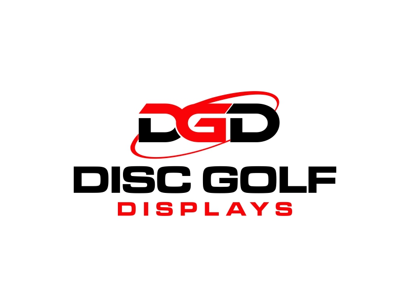 Disc Golf Displays Logo Design