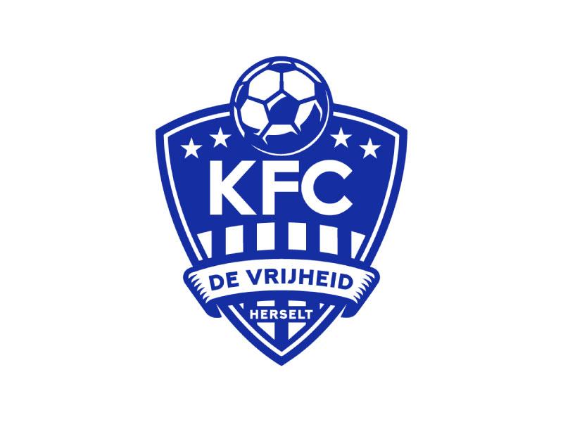 KFC Herselt Logo Design