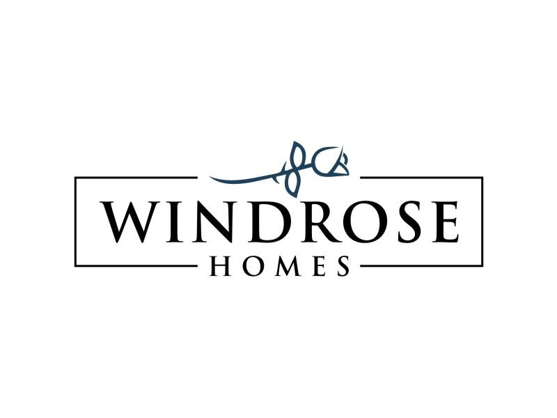 Windrose Homes Logo Design