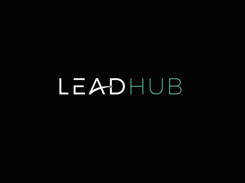 Leadhub Logo Design