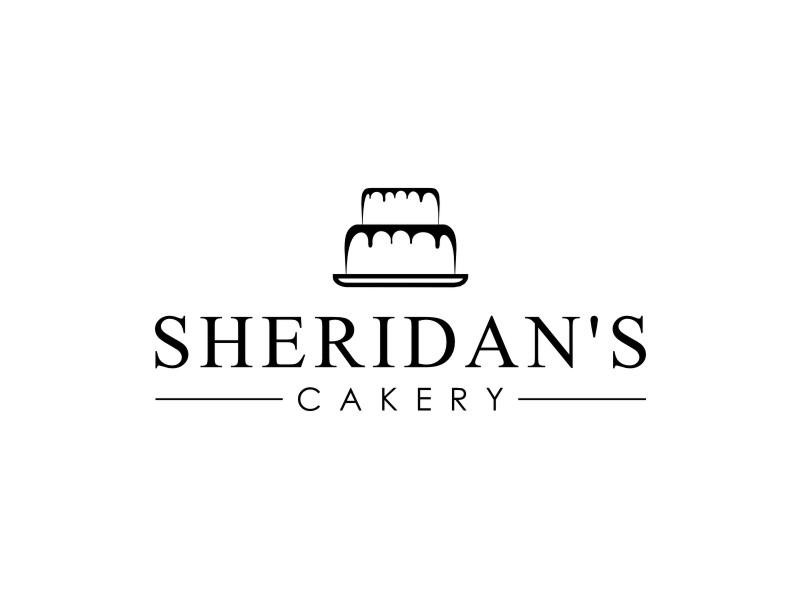 Sheridan's Cakery Logo Design