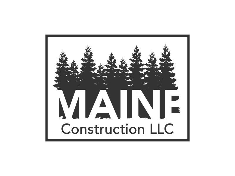 Maine Construction LLC logo design by hwkomp