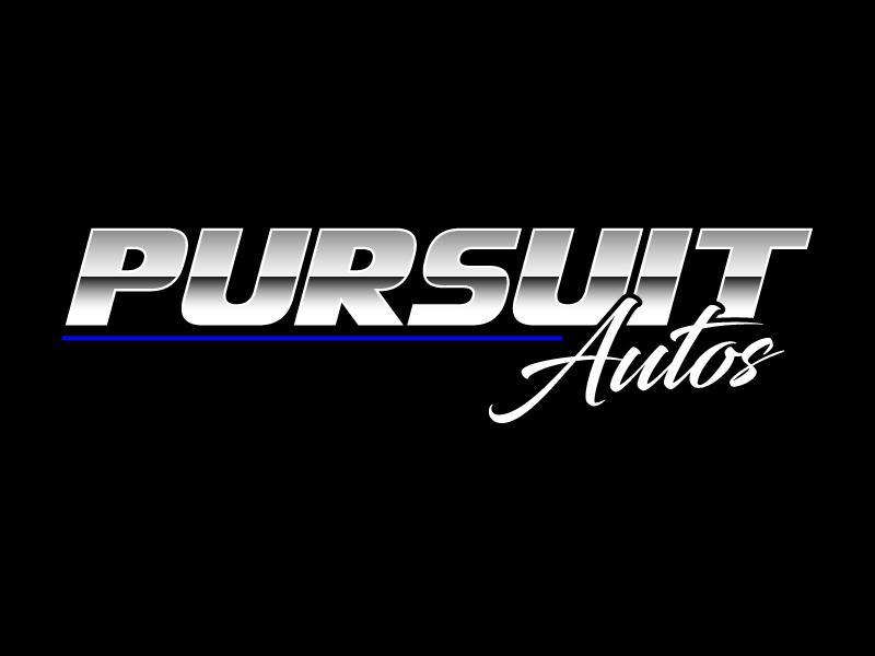 Pursuit Autos logo design by daywalker