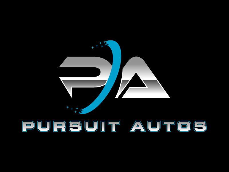 Pursuit Autos logo design by torresace