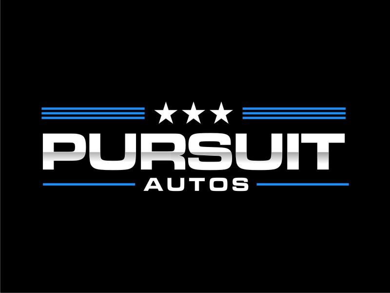 Pursuit Autos logo design by sheila valencia