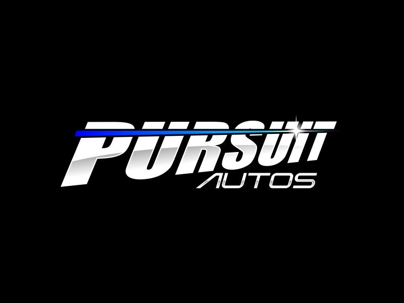 Pursuit Autos logo design by ekitessar