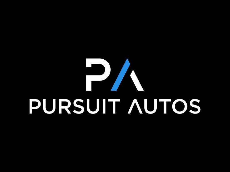 Pursuit Autos logo design by luckyprasetyo