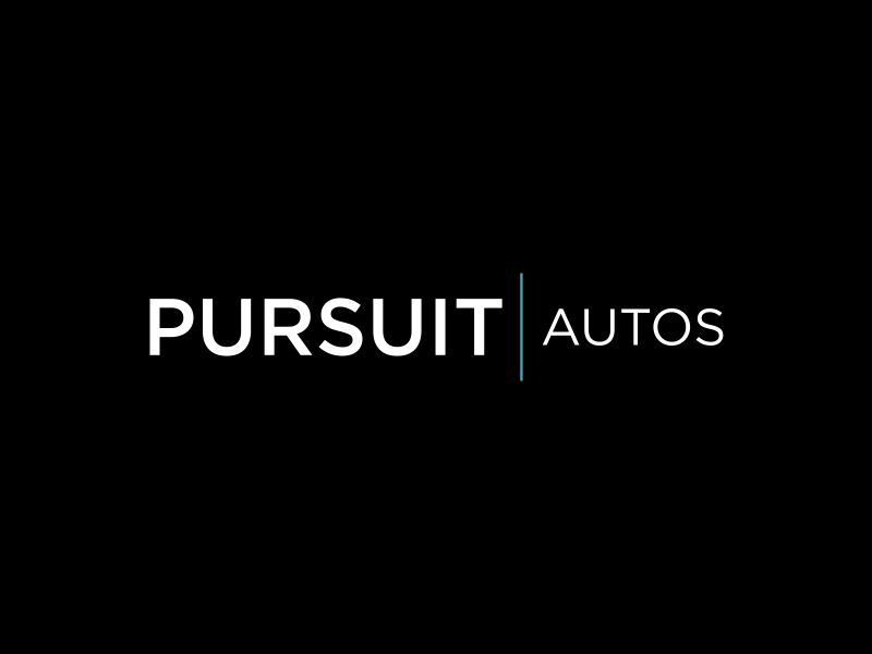 Pursuit Autos logo design by Gedibal