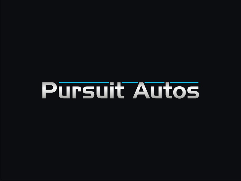 Pursuit Autos logo design by RatuCempaka