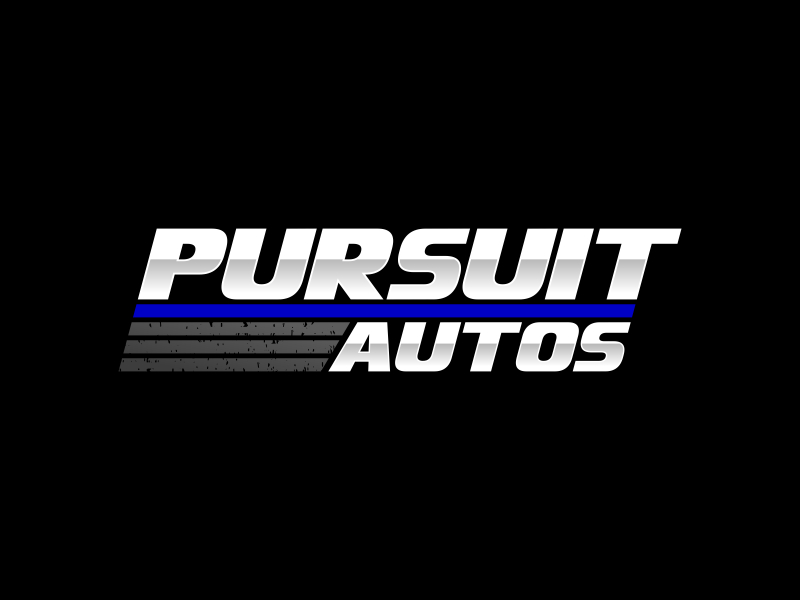 Pursuit Autos logo design by pionsign