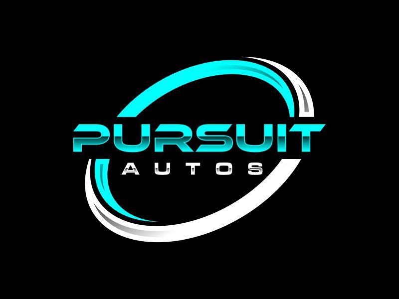 Pursuit Autos logo design by Toraja_@rt