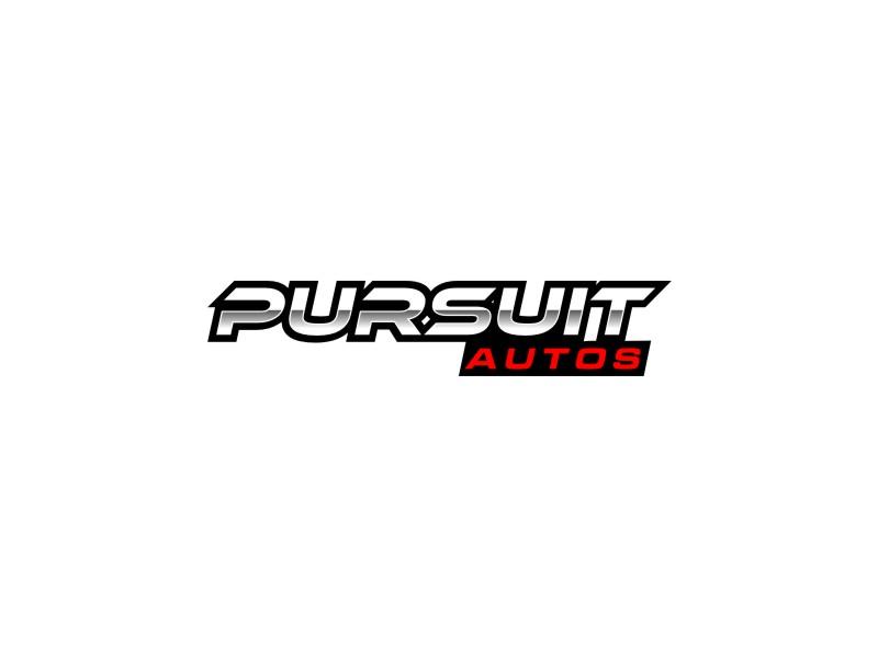 Pursuit Autos logo design by alby