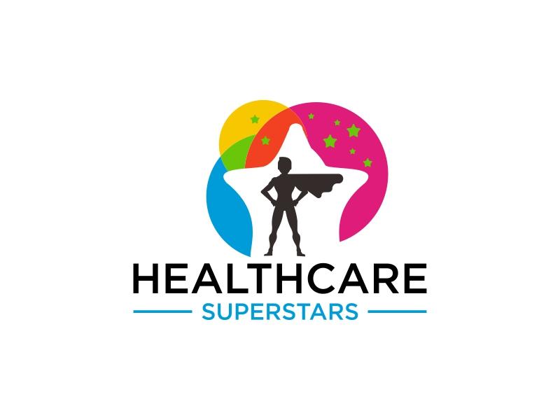 Healthcare Superstars logo design by luckyprasetyo