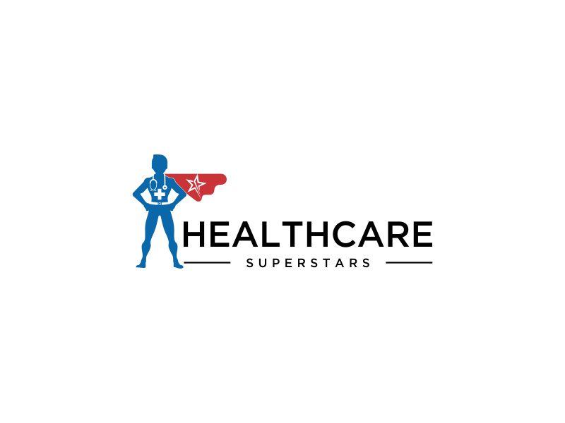 Healthcare Superstars logo design by oke2angconcept