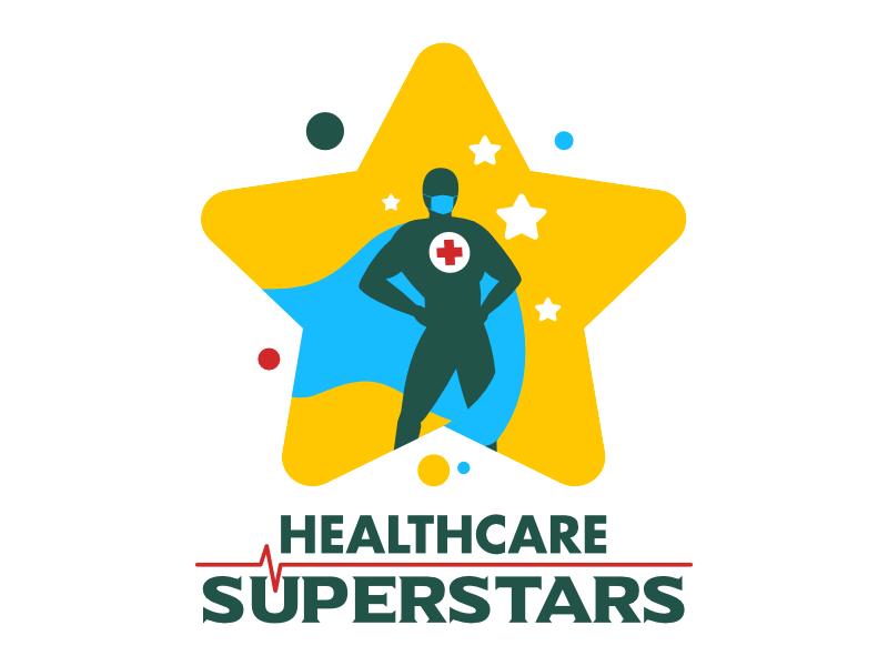 Healthcare Superstars logo design by shikuru