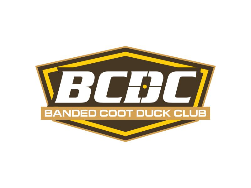 Banded Coot Duck Club logo design by Panara