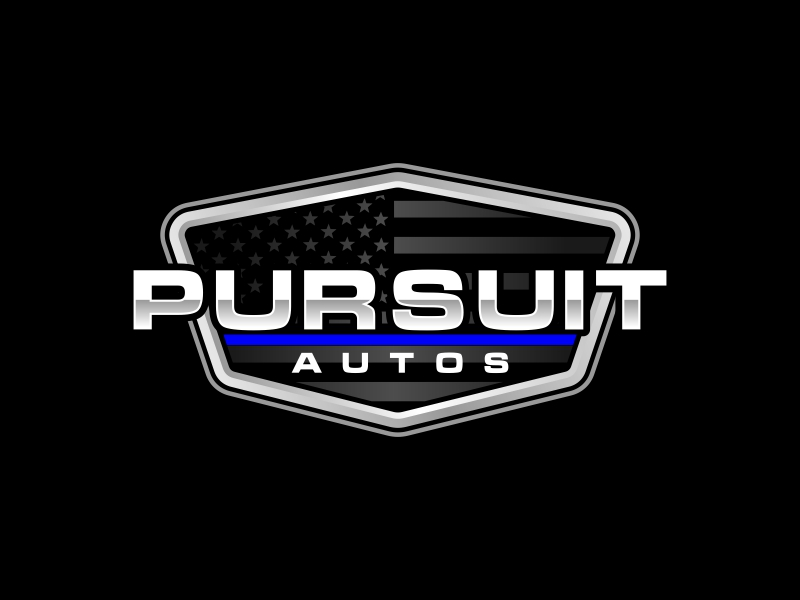 Pursuit Autos logo design by rizuki