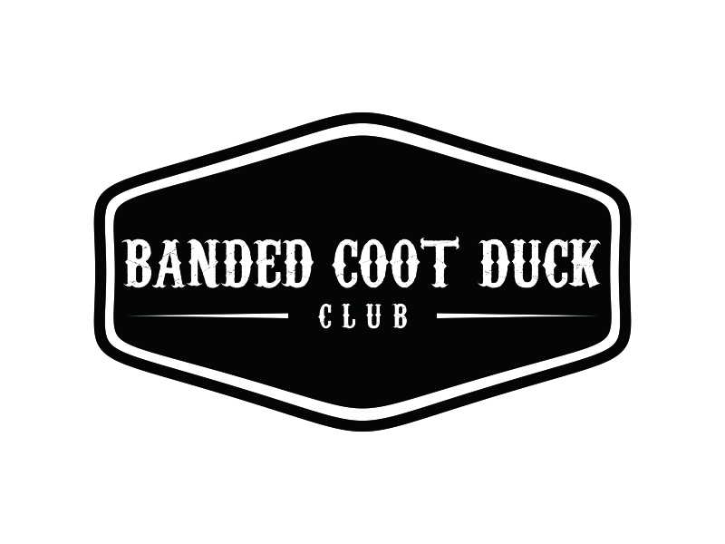 Banded Coot Duck Club logo design by Greenlight