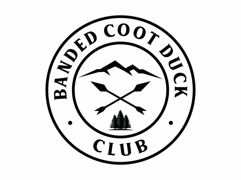 Banded Coot Duck Club logo design by Mardhi